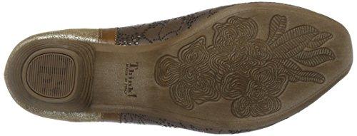 Think! Aida 80253, Scarpe con Cinturino alla Caviglia Donna Beige (Kred/Kombi 23)