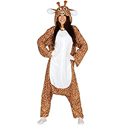 Guirca Disfraz Adulta Pijama Jirafa, Talla 42-44 (84526.0)