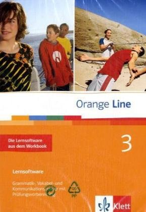 Orange Line, Bd.3 : Klasse 6, Die Lernsoftware aus dem Workbook, 1 CD-ROM Grammatik-, Vokabel- und Kommunikationstrainer mit Prüfungsvorbereitung. Einzelplatzlizenz. Windows 98, ME, NT, 2000, XP, Vista