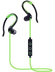 Écouteurs Bluetooth, écouteurs intra-auriculaires Écouteurs sans fil avec superbe basse