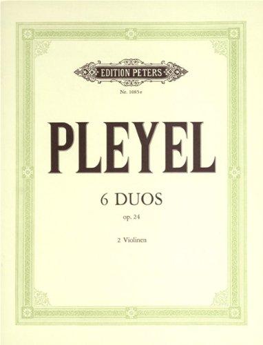 DUOS(6) OP 24   2 VIOLINS   BOOK