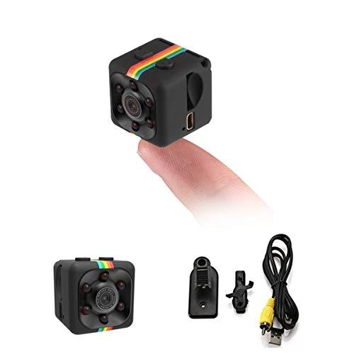 ICQUANZX Spy Camera, versteckte Kamera Mini Camera HD 1080P oder 720P Spy Cam Wireless kleine tragbare Nachtsicht-Bewegungserkennung für Zuhause, Auto, Drohne
