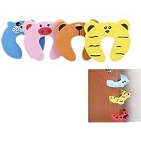 8 pcs EVA Cute Cartoon Animal Door Stop Doorstop for Baby Children Safety Finger Protection