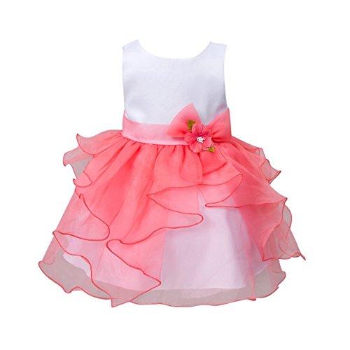 Baby Mädchen Sleevecess Prinzessin Tutu Kleid von Wongfon (Ballkleid Pageant Prom)