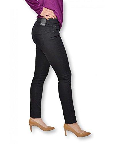 TIFFOSI - Jean femme regular waist skinny thigh and leg ref:BLAKE90 noir Noir