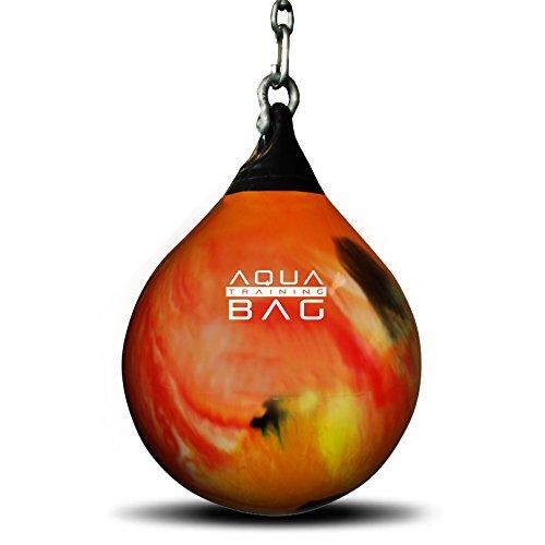Aqua de boxeo Fireball Naranja 18o 21pulgadas pesado de boxeo