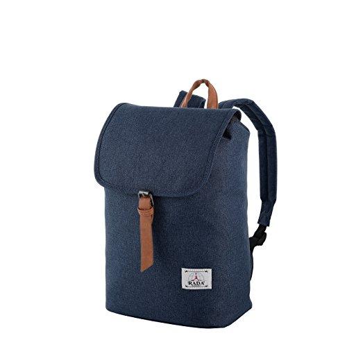 Rada Freizeit Rucksack RS/74 für Jungen und Mädchen, wasserabweisender Daypack für Damen und Herren mit 13 Liter Volumen, Schulrucksack mit geräumigem Hauptfach