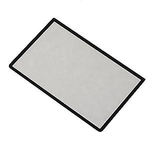 Timorn Wiedereinbau Schwarz Oberseiten Schirm Rahmen Objektiv Abdeckung LCD Schirm Schutz für 3DS XL / 3DS LL (1pc)