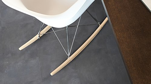 Gerflor Senso Lock - Fliese - 0703 Wallstreet Dark Vinylboden zum klicken - Design-Dielen aus Vinyl-Laminat mit Klick-System für schnelle und einfache Verlegung ohne Kleber - Paket a 1,84m²