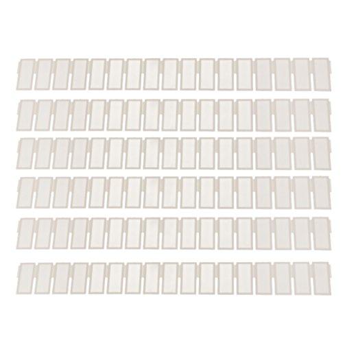 6Pcs DIY Grid Drawer Divider Schubladenteiler Aus Kunststoff-Speicher-Organisator
