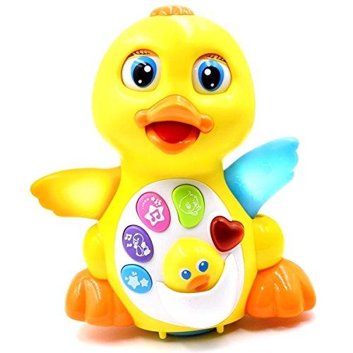 dawn-flashing-musical-lights-duck-toy-electric-universal-adjustable-sound-swing-duck-preschool-learn