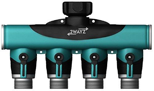 4Way tubo connector| Tubo per artrite Friendly irrigazione Splitter. Un libero Add-On: 3Rondelle in gomma + 12mesi di garanzia completa. Divertiti.
