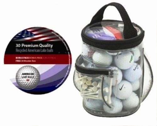 Longridge 30 palline da allenamento in comoda borsa da Golf