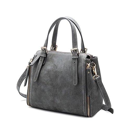 CRR Lady Taschen Matt Ledertasche Mode Schulter Messenger Bag Designer Handtaschen für Frauen Verkauf (Farbe : #4) (Verkauf Designer-handtasche)
