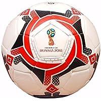 Power Field Ballon d'entraînement fait à la main–football–qualité testée de façon officielle, taille 4, pour la pratique, blanc