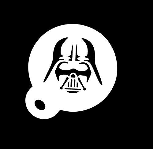 Café plumero Star Wars Darth Vader 350micras Mylar plantilla para estarcir aprox. 8,5cm)