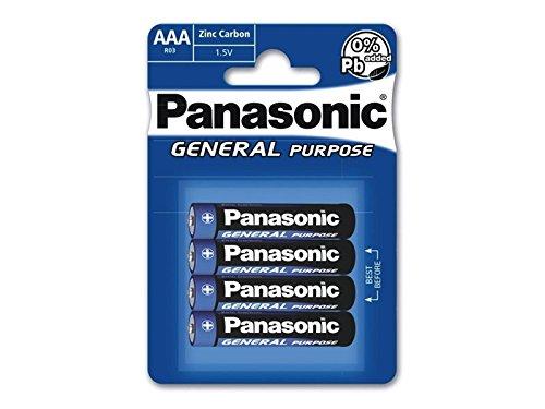 Panasonic r03be/4BP Plus Micro Batterie