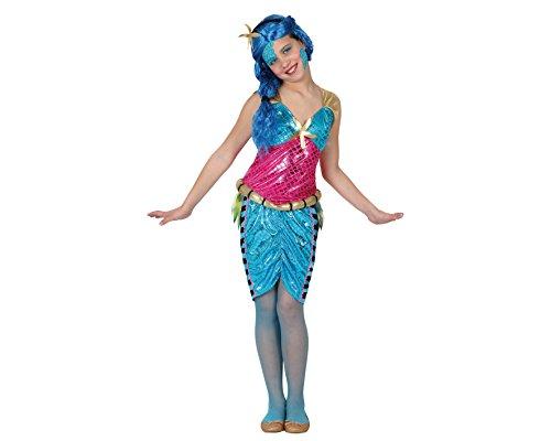 Atosa-15964 Disfraz Sirena, Color azul, 3 a 4 años (15964