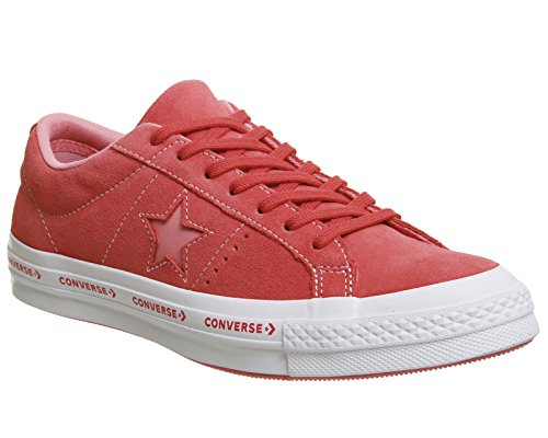 Converse One Star Ox Chaussures rouge rose