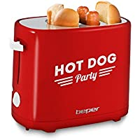 Beper Máquina para Perritos Calientes - Hot Dogs 90.488 750W
