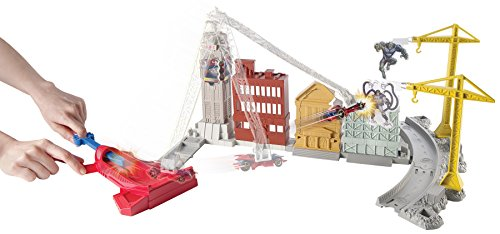 Hot Wheels Marvel Spidey's Spinning Web Swing Track Set by Hot Wheels