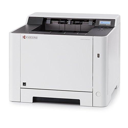 Kyocera Ecosys P5021cdn Laserdrucker für Farbe und Schwarz-Weiß: 21 Seiten pro Minute. Mobile-Print-Funktion für Smartphone