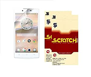 Scratch Pruff Matte Screen Guard For Oppo Fine 5 Pack Of 2