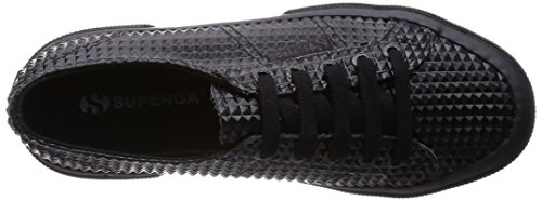 Superga 2750 Rbrpyramidu, Baskets Basses Mixte Adulte Noir - Black (902 Total Black)