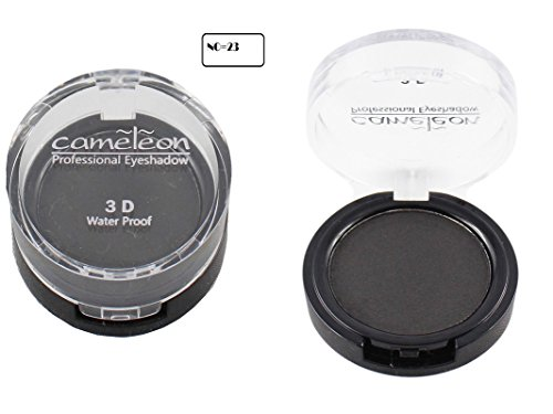 Ear Lobe & Accessories Personal and Professional Cameleon 3d and Waterproof Eye Shadow Black 8gms