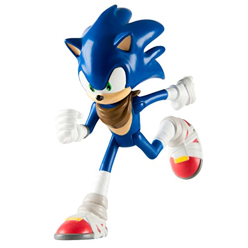 "Image of Sonic the Hedgehog T22501NEWSONIC 3-Inch ""Sonic Boom"" Articulated Figure"