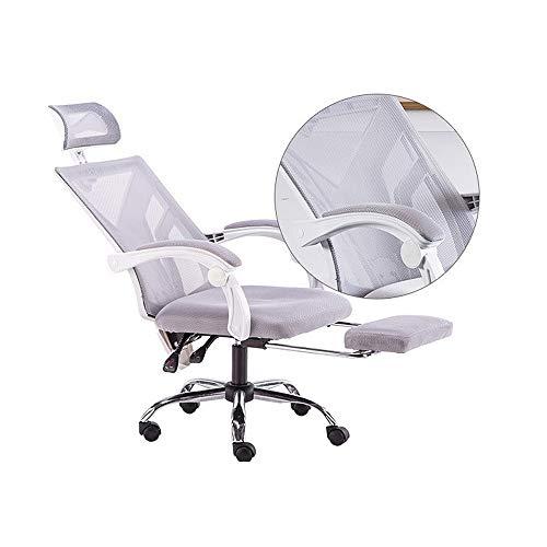 Be82aene Malla de plástico silla de oficina - silla ergonómica giratorio, Asiento...