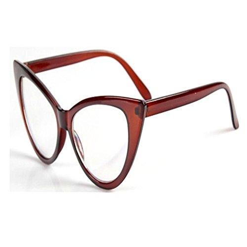 O-C Damen Sonnenbrille, Braun