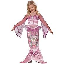 Rubbies - Disfraz de sirena para niña, talla M (870081457)