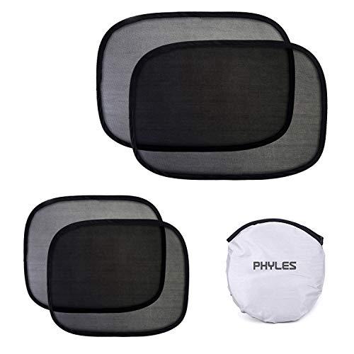 Phyles 4 Piezas Parasol de Coche