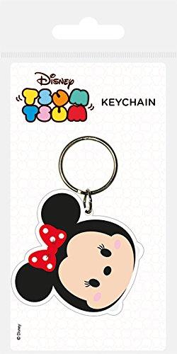 3C-Tsum-Minnie-Mouse-Gummi-Schlüsselanhänger (Disney Zubehör Für Erwachsene)