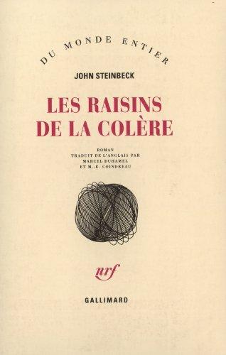 Les raisins de la colère par John Steinbeck