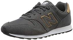 New Balance Herren 373 Sneaker, Grau (Grey Grey), 43 EU (9 UK)