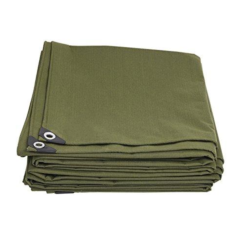 RKY Zeltplanen- Plane - Dickes Canvas-Regenschutz-Tuch für den Außenbereich -600g / M2, Dicke 0,7 mm (anpassbare Größe) / - / (Size : 4 x 5m) -