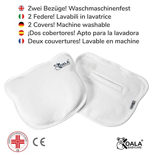 Almohada para Bebe para plagiocefalia desenfundable...