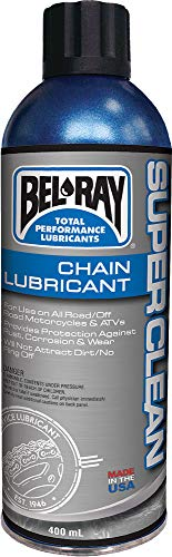 Bel-Ray Motorrad Kettenreiniger Spray - Super Clean Chain Lube 400ml