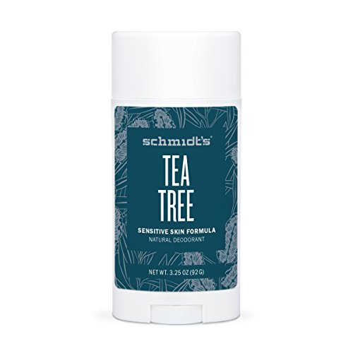 Tea Tree Sensitive Skin Deodorant Stick (2 Oz.; Odor Protection & Wetness Relief; Aluminum-Free)