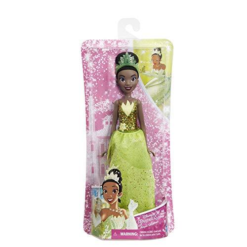 Hasbro E4162ES2 - Disney Prinzessin, Schimmerglanz Tiana, (Prinzessin Tiana Kleid)