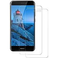 FayTun Panzerglas Schutzfolie für Huawei P8 Lite 2017, [2 Stück] Panzerglasfolie für Huawei P8 Lite 2017-9H Härte-Anti-Kratzen,Öl,Bläschen,Fingerabdruck-Schutzfolie für Huawei P8 Lite 2017