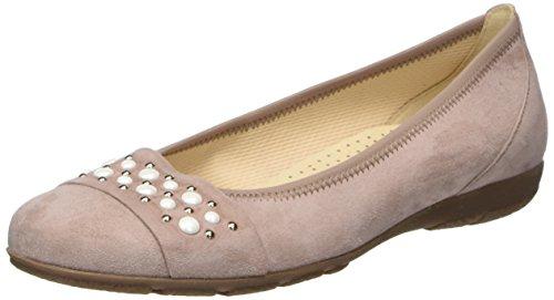 Gabor Shoes Damen Casual Geschlossene Ballerinas, Mehrfarbig (Antikrosa), 40 EU -