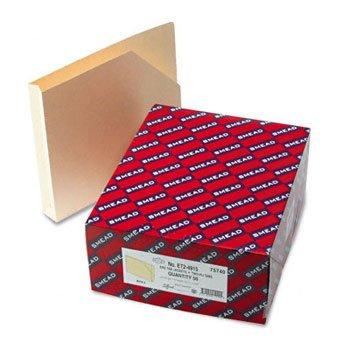 SMEAD hvwt Ende Tab Datei Taschen w/1-1/2Expansion, Ltr, 14PT. Manila, 50/BX (Datei-ordner Tasche Registerkarte)