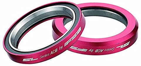 'FSA roulements Super Light 1 – 1/8 ACB 45 ° x45 ° Alu mr042r Noir (roulements de direction)/Super Light Bearing mr042r 1 – 1/8 ACB 45 x 45 black Seal (steering