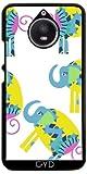 Hülle für Motorola Moto E4 Plus - Elefanten by Luizavictorya72