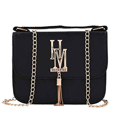 Fristo Women's Slingbag (FRSB-066, Black)