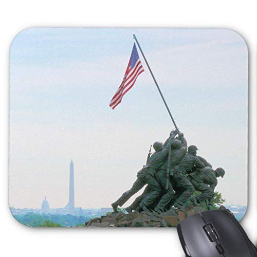 Iwo Jima Memorial Washington Dc Mouse Pad 25cm x 30cm