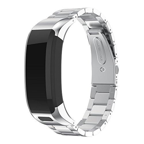 48800d69b215 LANSKIRT Bandas de Metal de la Correa de Venda del Reloj Accesorio del  Acero Inoxidable Correas